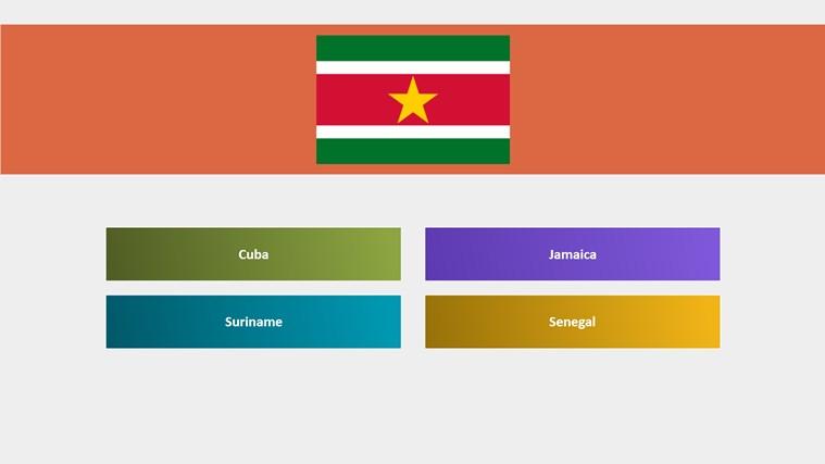Adivina las banderas del mundo screen shot 1