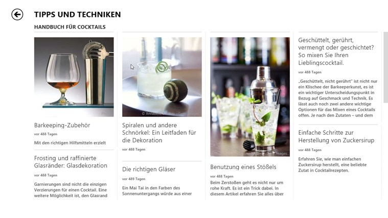 MSN Kochen & Genuss Screenshot 3