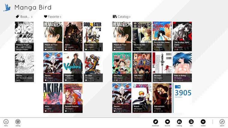 Manga Bird screen shot 1