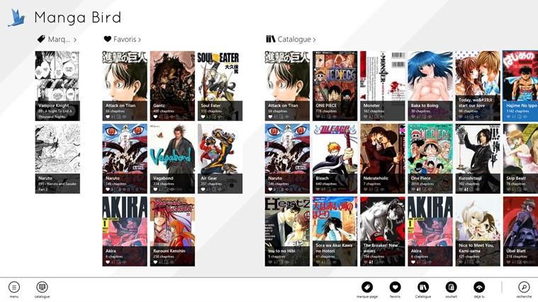 Manga Bird capture d'écran 1