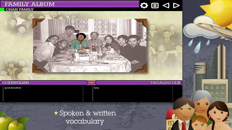 Play & Learn Tagalog skjermbilete 3