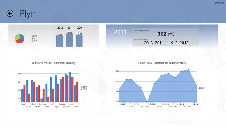 HomeDataMeter snímek obrazovky 1