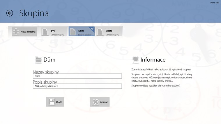 HomeDataMeter snímek obrazovky 5