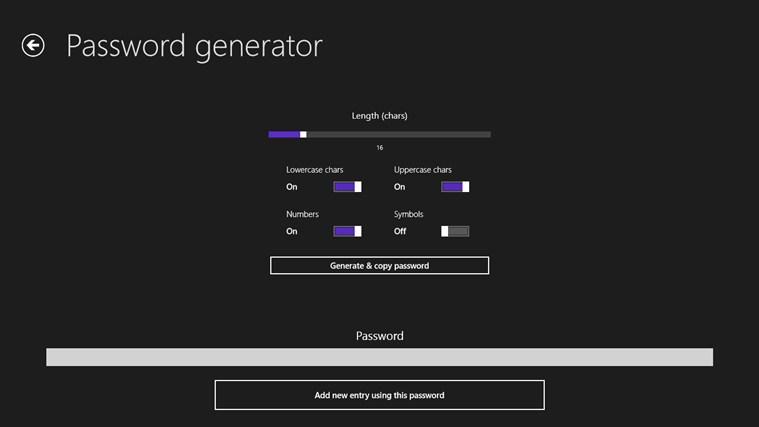 Password Administrator لقطة شاشة1