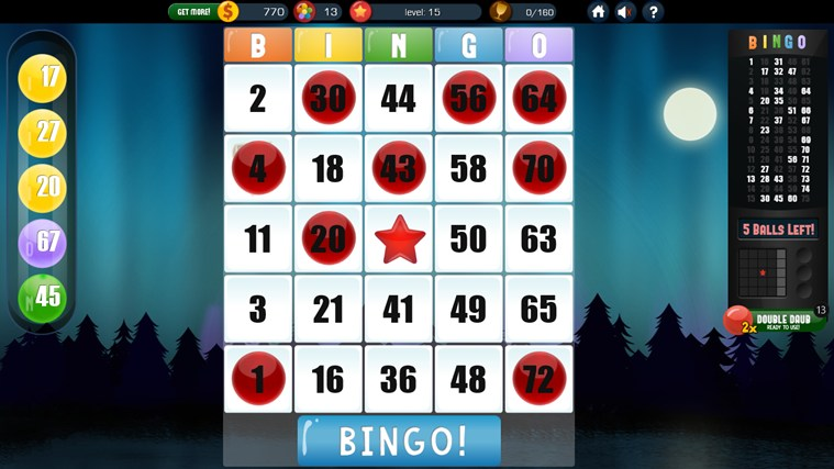 Absolute Bingo screen shot 3