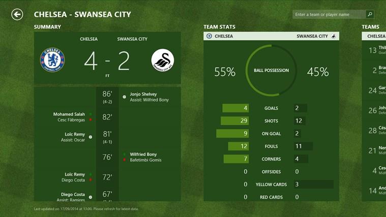 MSN Sport screen shot 3