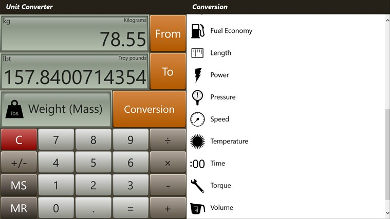 Converter Pro - Unit & Currency Conversions skjermbilete 3