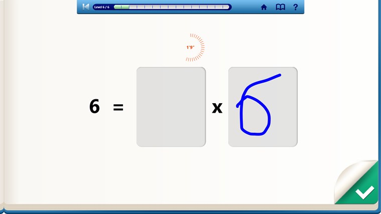 Multiplication Tables - myBlee screen shot 3
