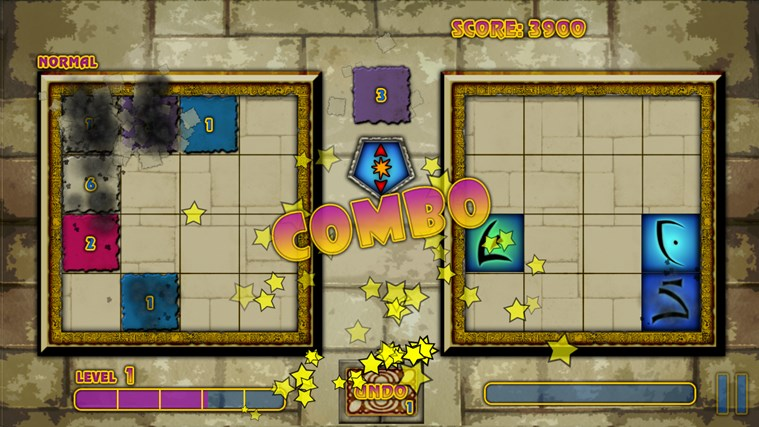 Mystical Threes screen shot 1