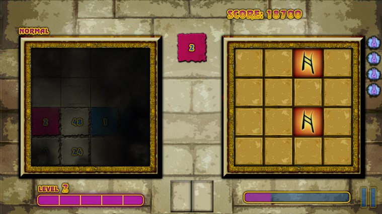 Mystical Threes screen shot 3