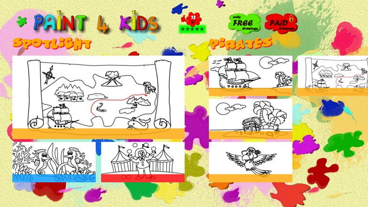 Paint 4 Kids screen shot 3
