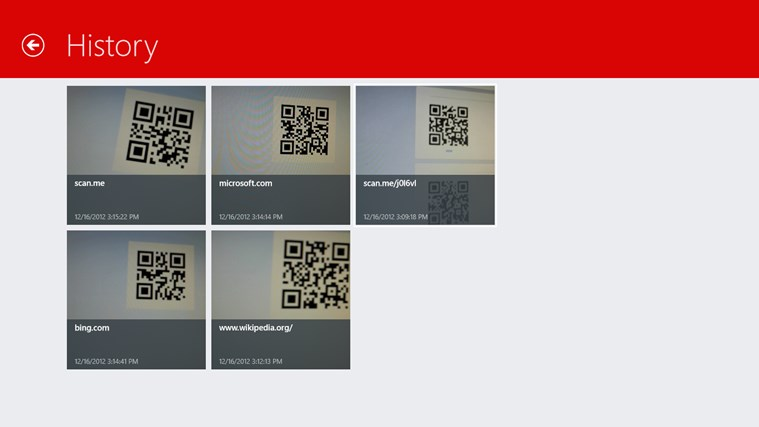 Scan - QR Code and Barcode Reader screen shot 3