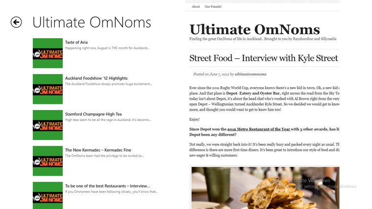 Follow Ultimate OmNoms screen shot 1