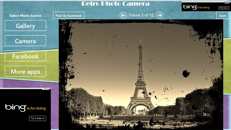 Retro Photo Camera petikan skrin 1