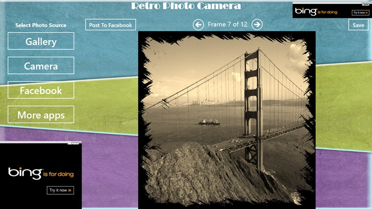 Retro Photo Camera petikan skrin 5