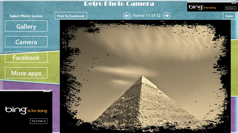 Retro Photo Camera petikan skrin 7