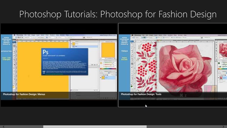 Photoshop tutorials photoshop for fashion design for for Window design app