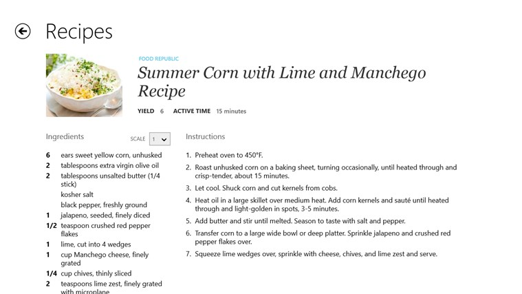 Recipe, Menu & Cooking Planner screen shot 3