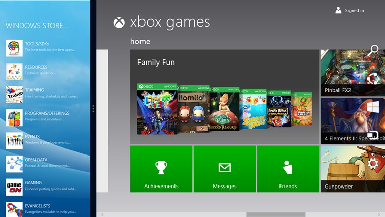 Windows Store Infokit screen shot 3
