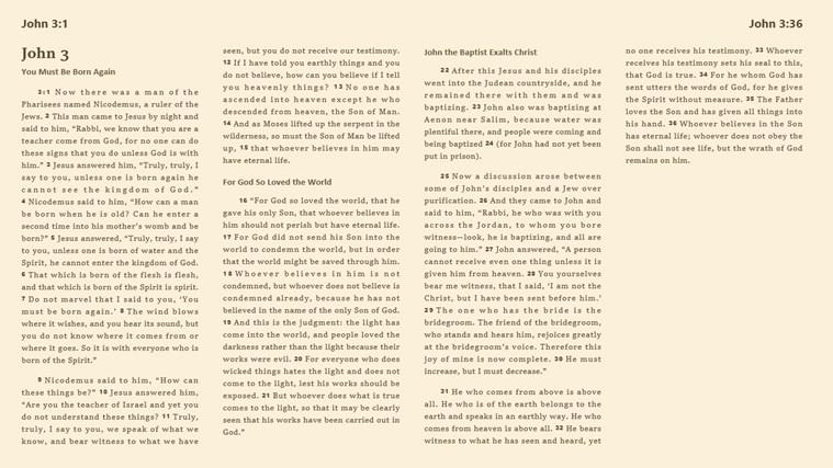 ESV Bible Online screen shot 5