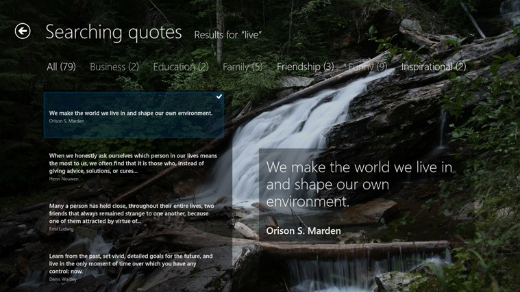 The Quote screen shot 7