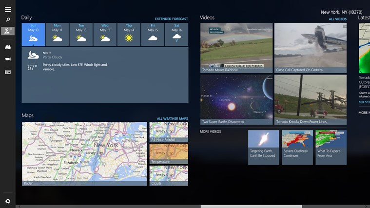 The Weather Channel screen shot 3