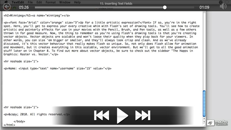 Web Design: Deeper Into XHTML screen shot 3