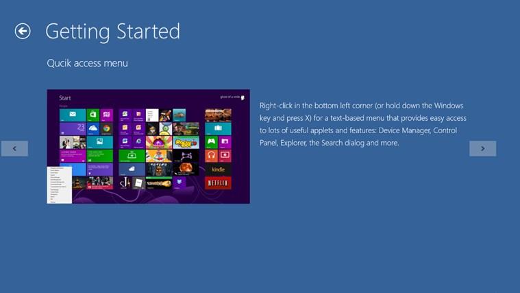 Tips on Version 8.0 screen shot 1