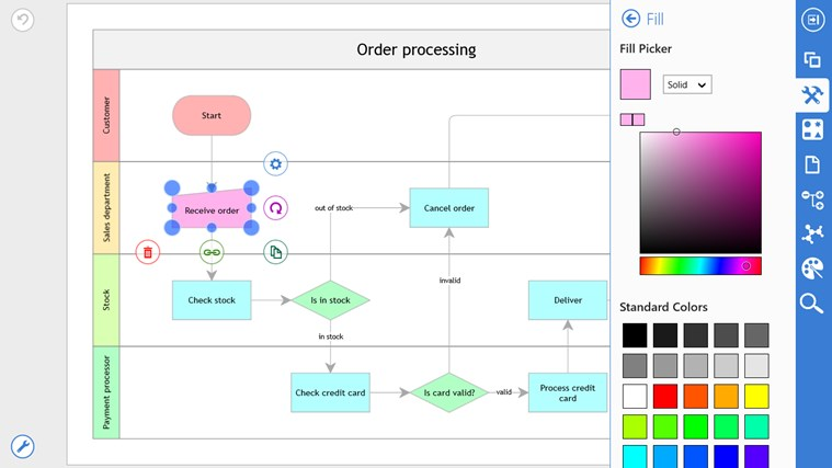 Grapholite Diagrams Pro screen shot 3