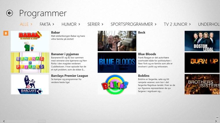 TV 2 Sumo skjermbilde 3