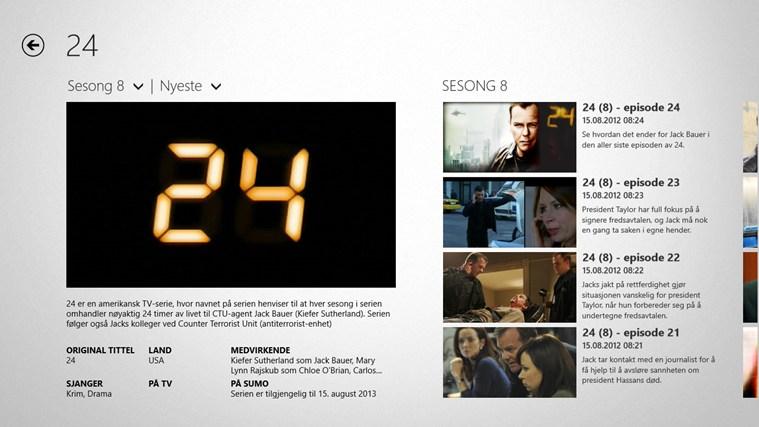 TV 2 Sumo skjermbilde 5