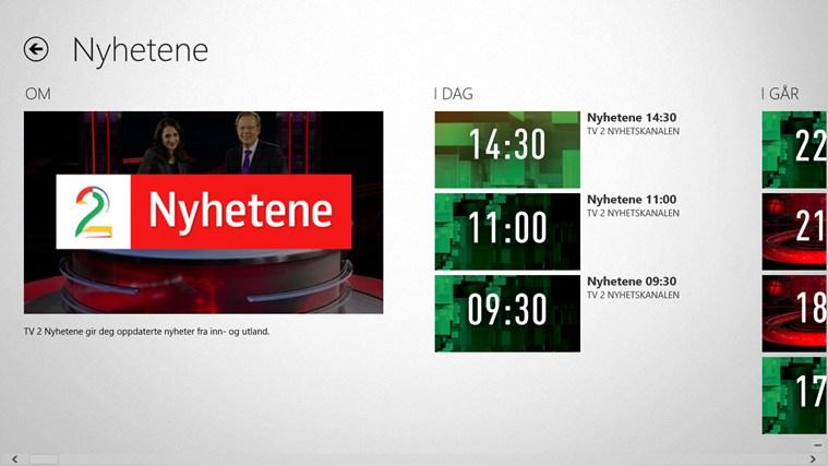 TV 2 Sumo skjermbilde 7