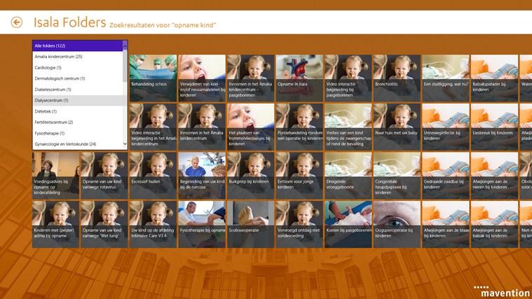Isala folders schermafbeelding 5