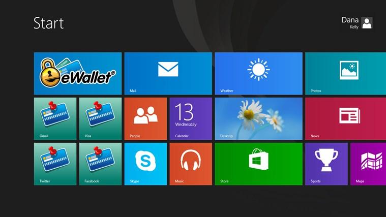eWallet screen shot 5