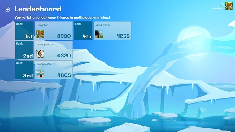Glacier Blast screen shot 1