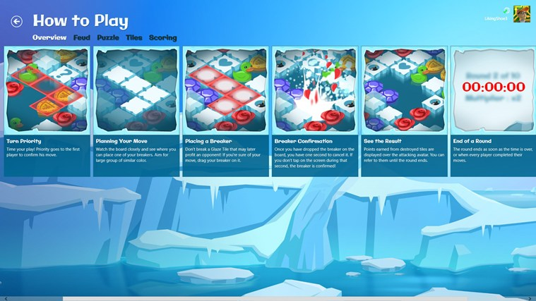 Glacier Blast screen shot 3