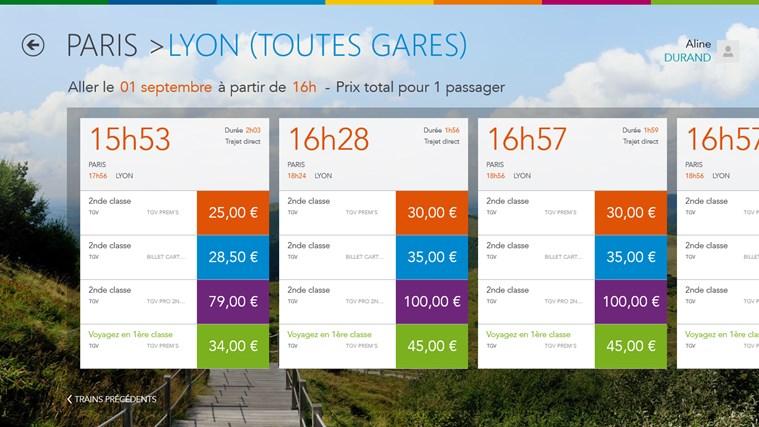 Voyages-SNCF capture d'écran 3