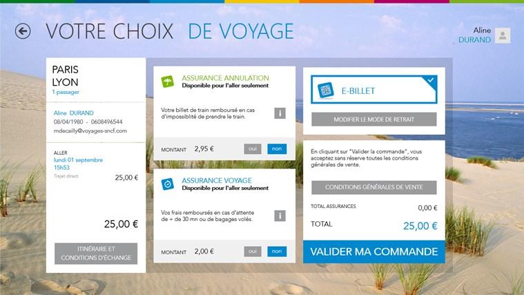 Voyages-SNCF capture d'écran 7