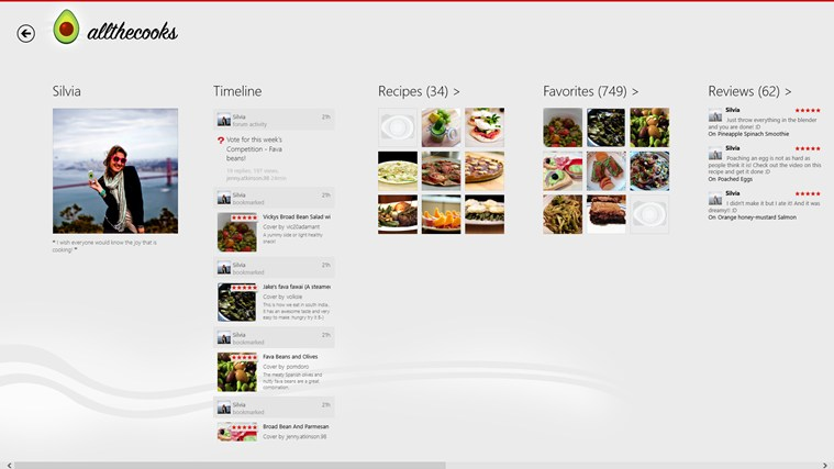 Allthecooks Recipes screen shot 5