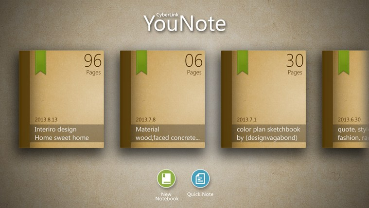 YouNote screen shot 1