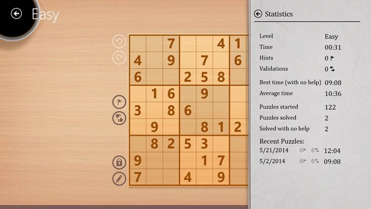 Sudoku Free captura de tela 5
