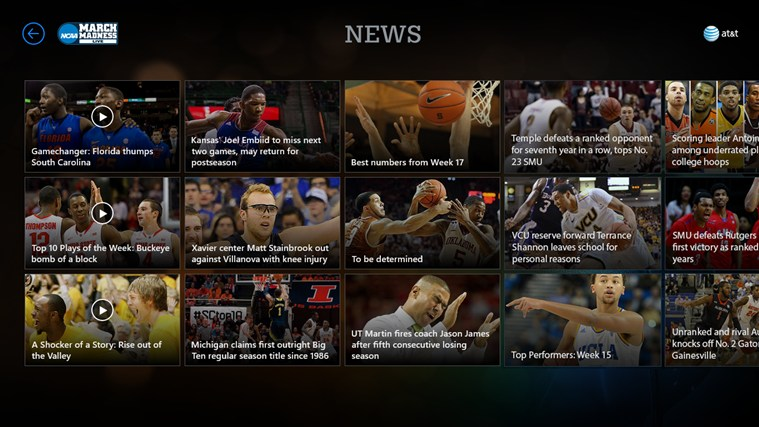 NCAA® March Madness® Live screen shot 3