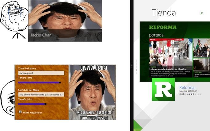 MemeGeneratorWin8 pantalla hapichiy 3