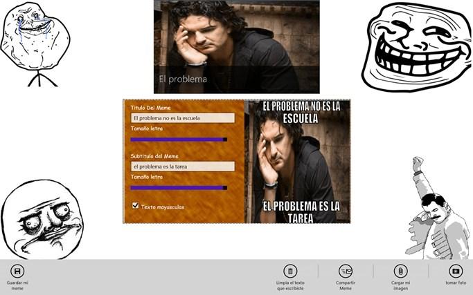 MemeGeneratorWin8 pantalla hapichiy 5