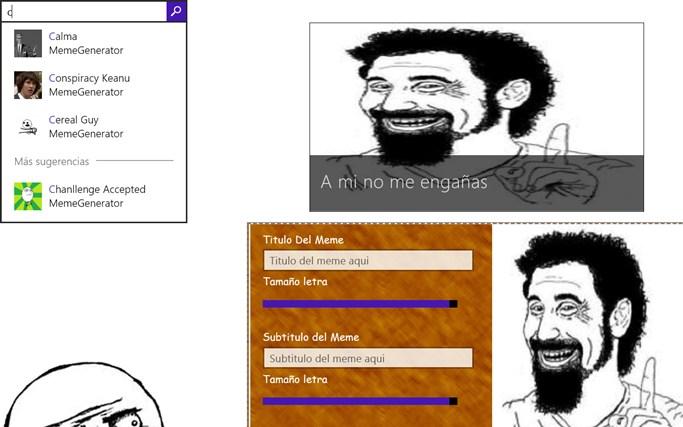 MemeGeneratorWin8 pantalla hapichiy 7
