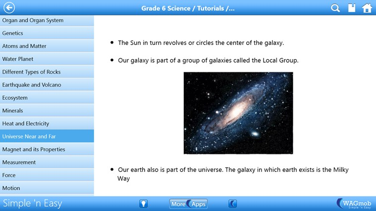 Grade 6 Science by WAGmob screen shot 3