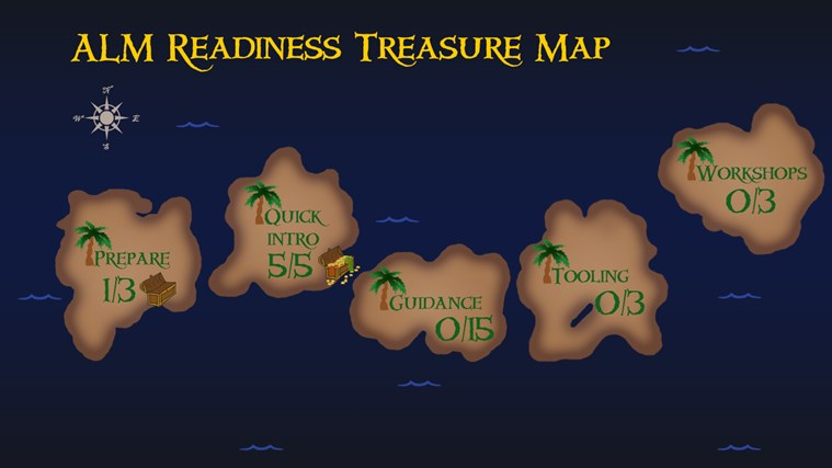 ALM Readiness Treasure Map screen shot 1