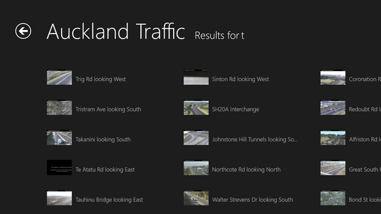 Auckland Traffic screen shot 3