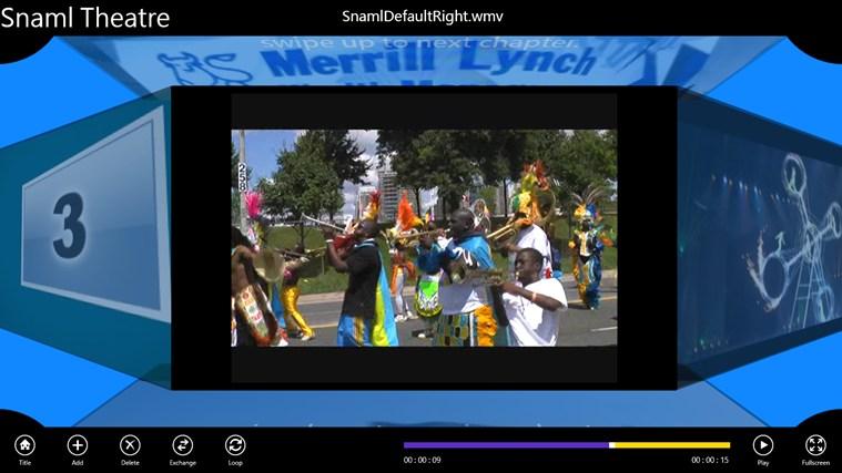 Snaml Theatre: знімок екрана 1