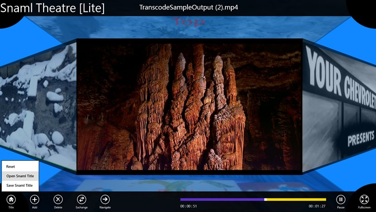 Snaml Theatre: знімок екрана 3